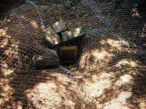 Badger gate temporary sett closure