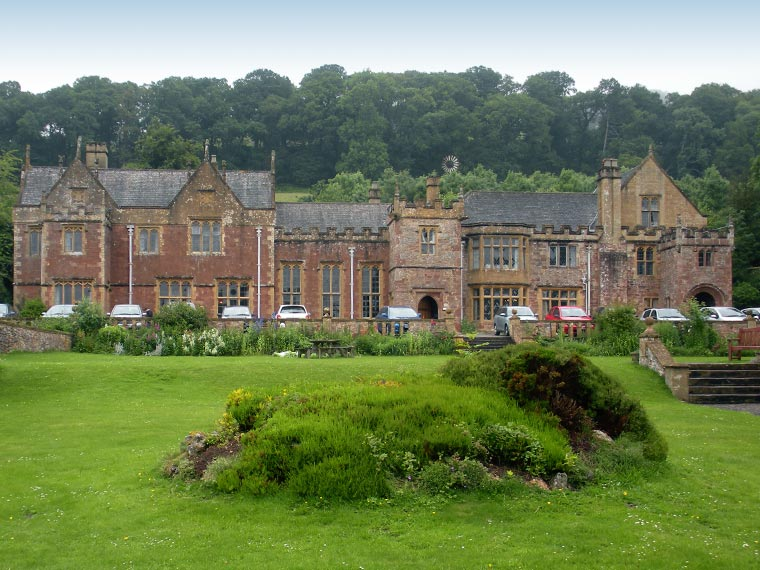 Ecological impact assessment at Halsway Manor
